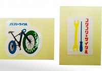 自転車屋シール写真